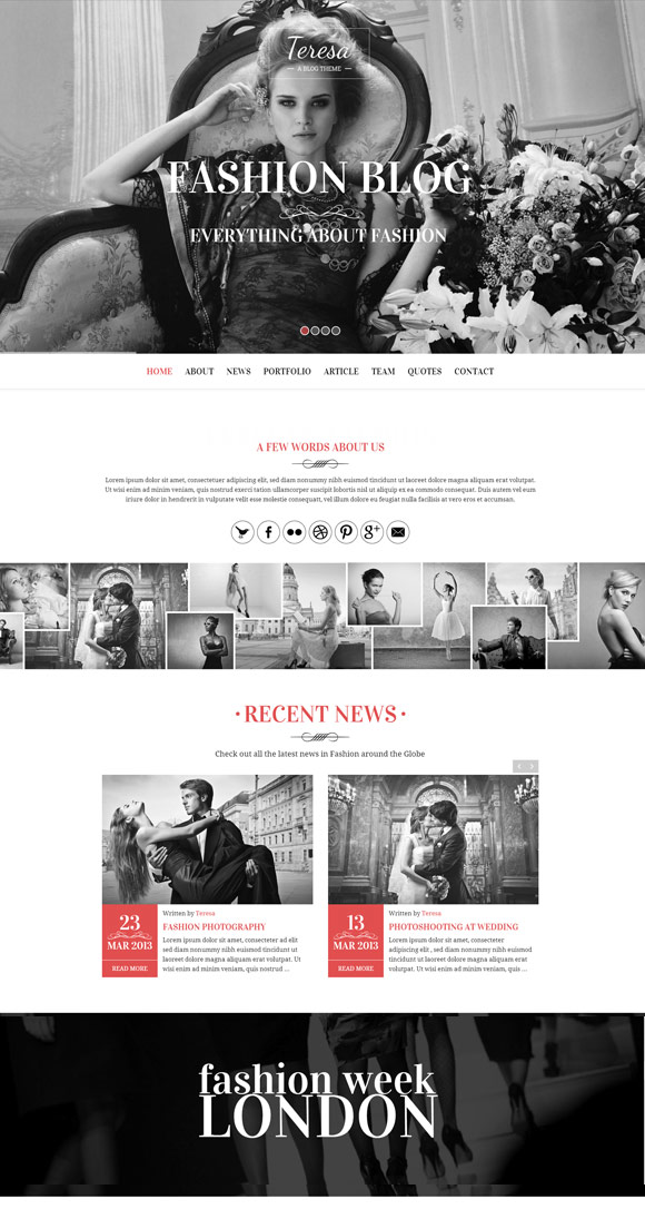 teresa-wordpress-theme