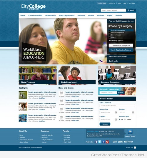 City-College-WordPress-Theme