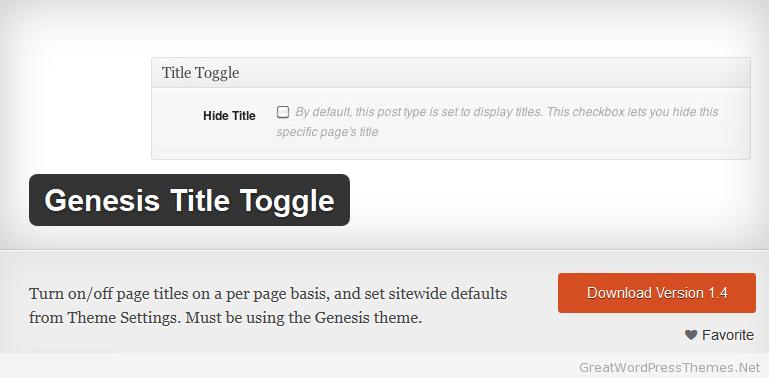 Genesis-Title-Toggle