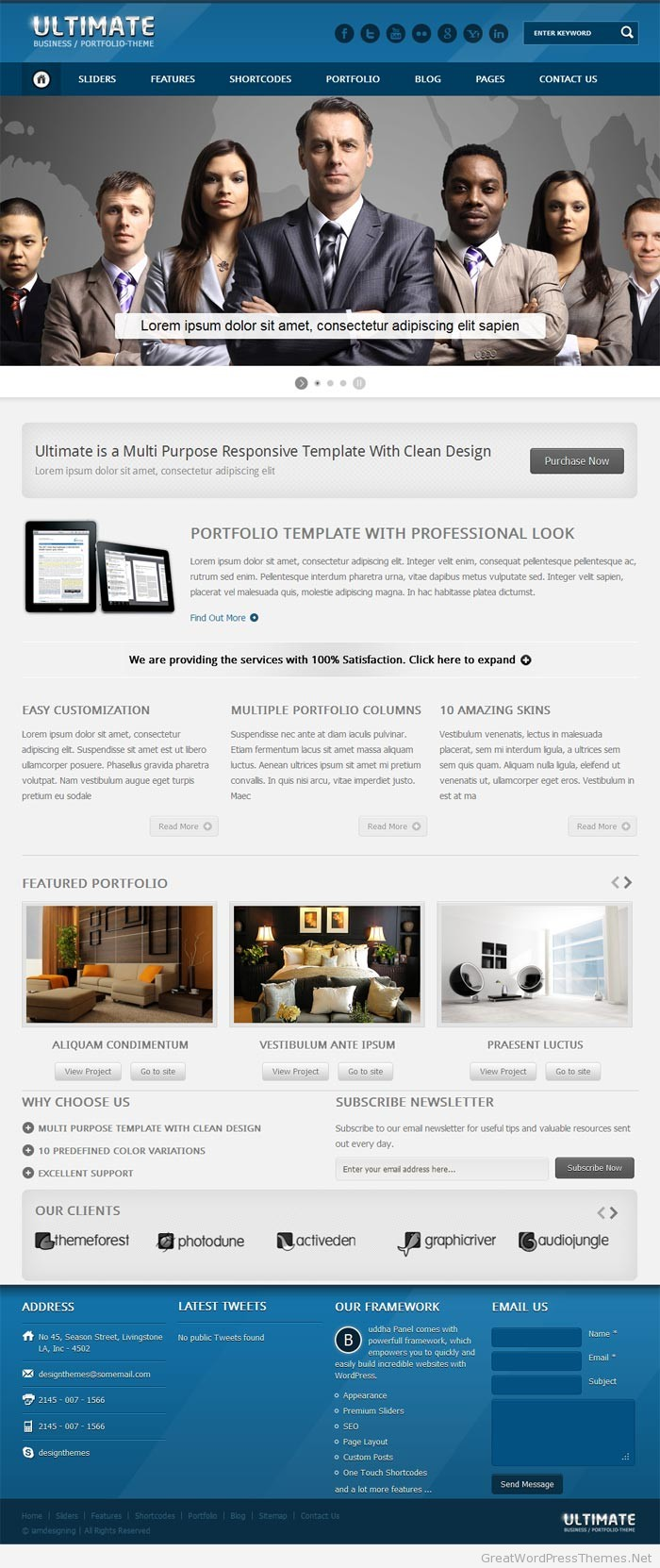 Ultimate-Business-or-Portfolio-Theme