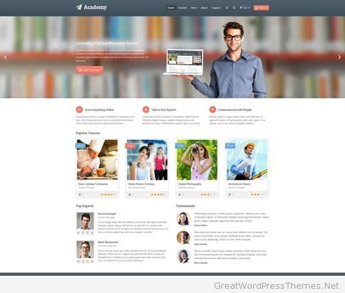 academy-wordpress-theme