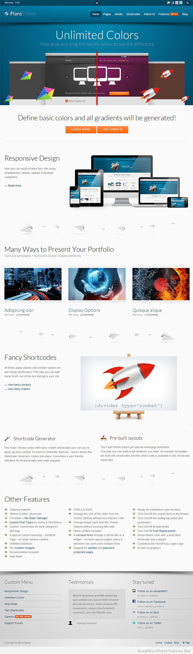 flare-wordpress-theme