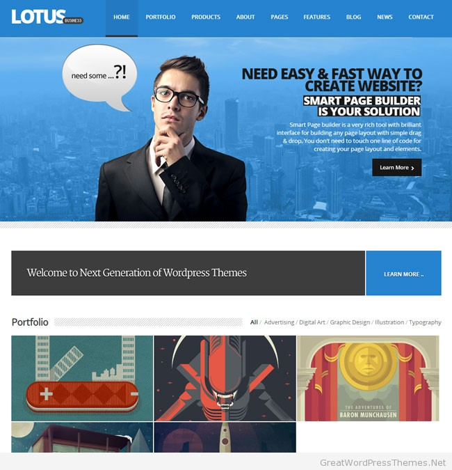 lotus-wordpress-theme