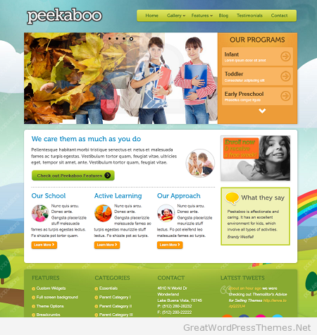 peekaboo-wordpress-theme