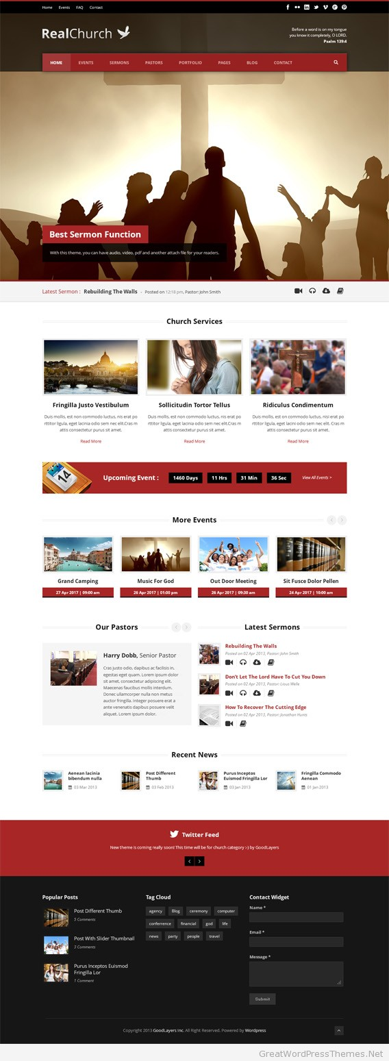 real-church-wordpress-theme