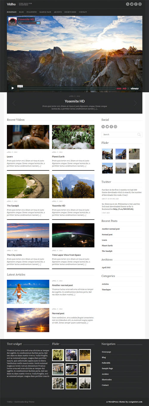 vidiho-wordpress-theme