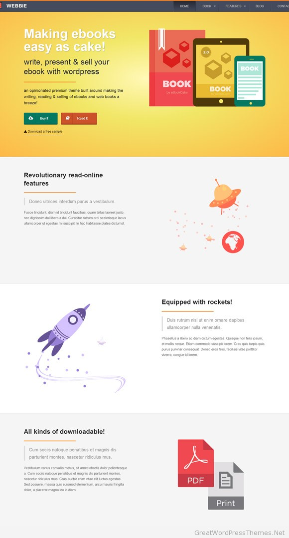 webbie-ebook-authors-wordpress-theme