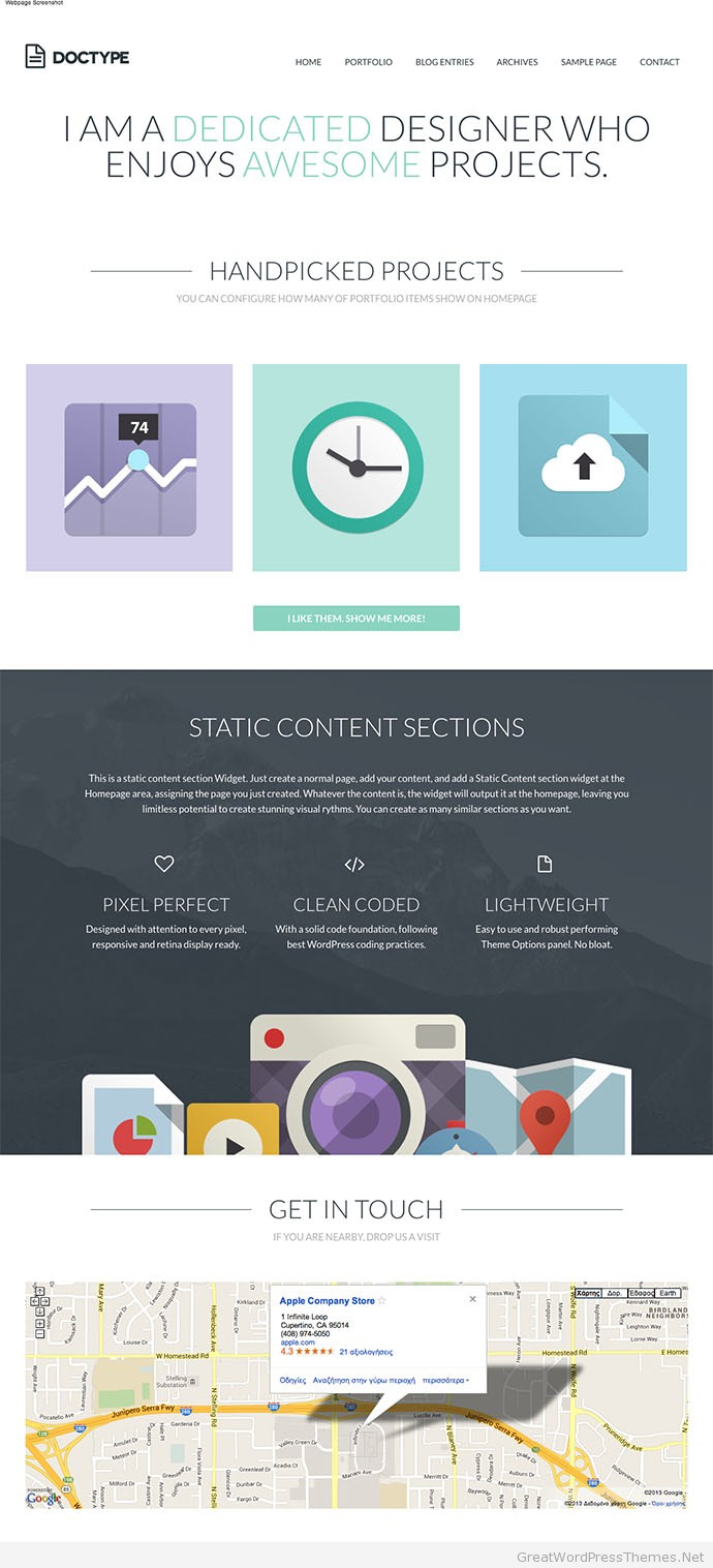 Doctype-WordPress-Theme-Portfolio