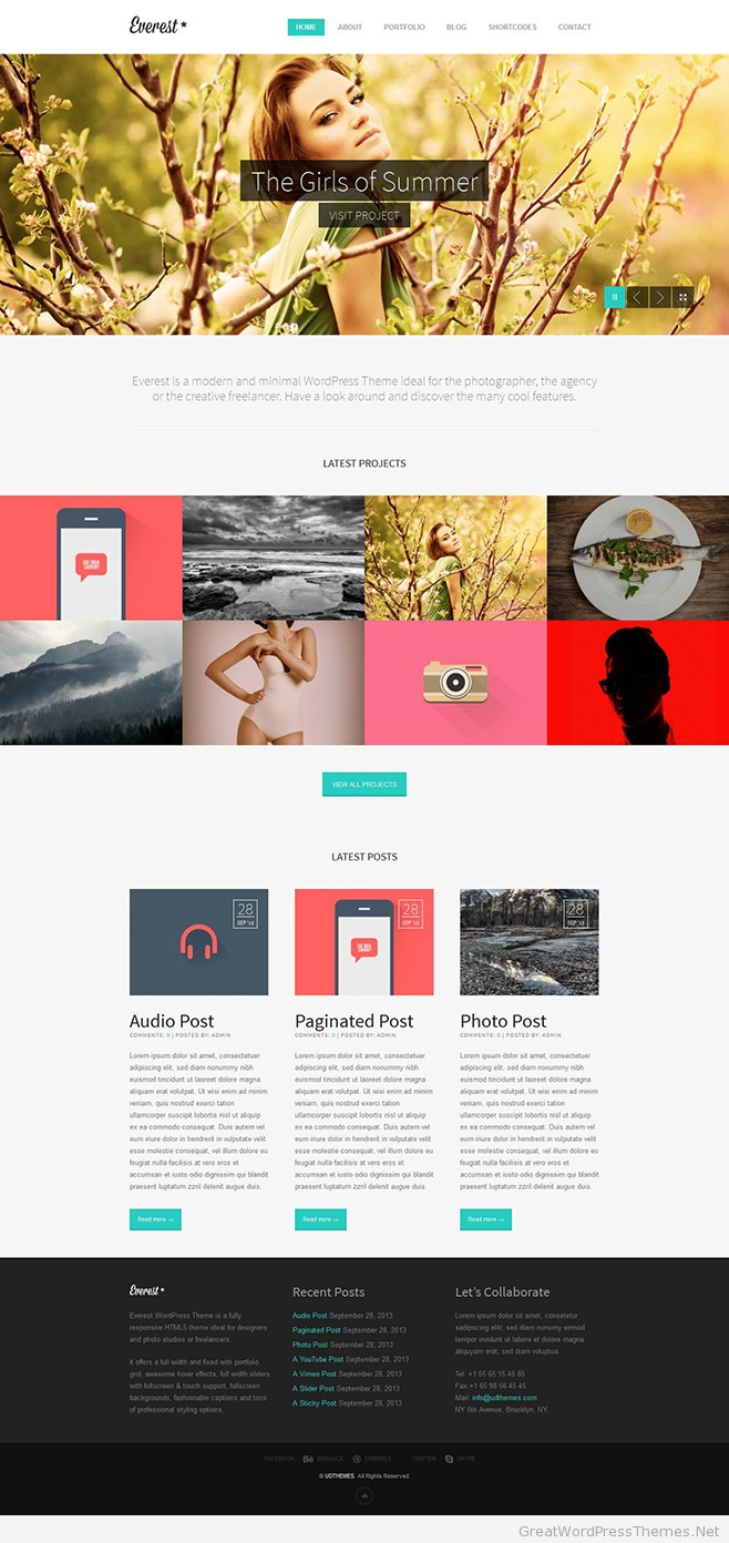 Everest-WordPress-Theme