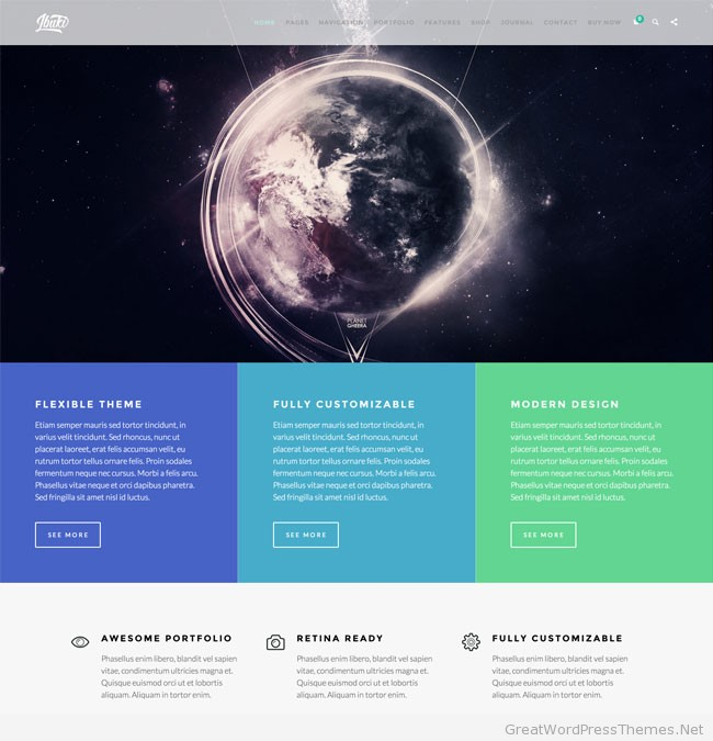 IBuki-WordPress-Theme