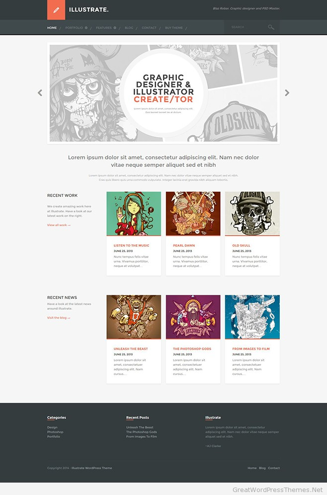 Illustrate-WordPress-Theme