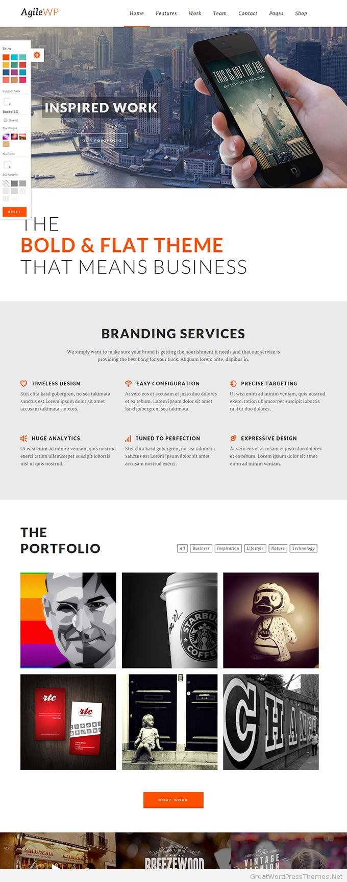 Agile-Multi-Purpose-WordPress-Theme