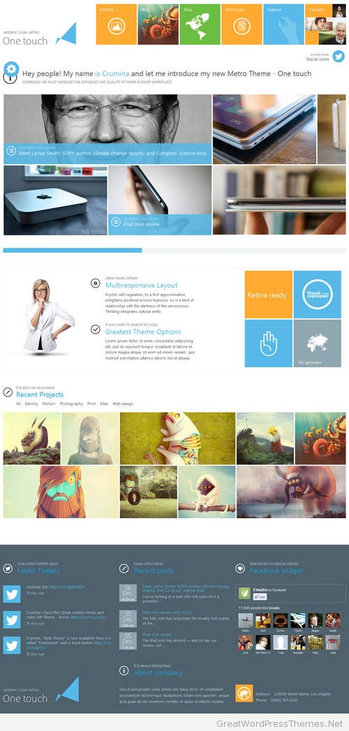 One-Touch-WordPress-Theme