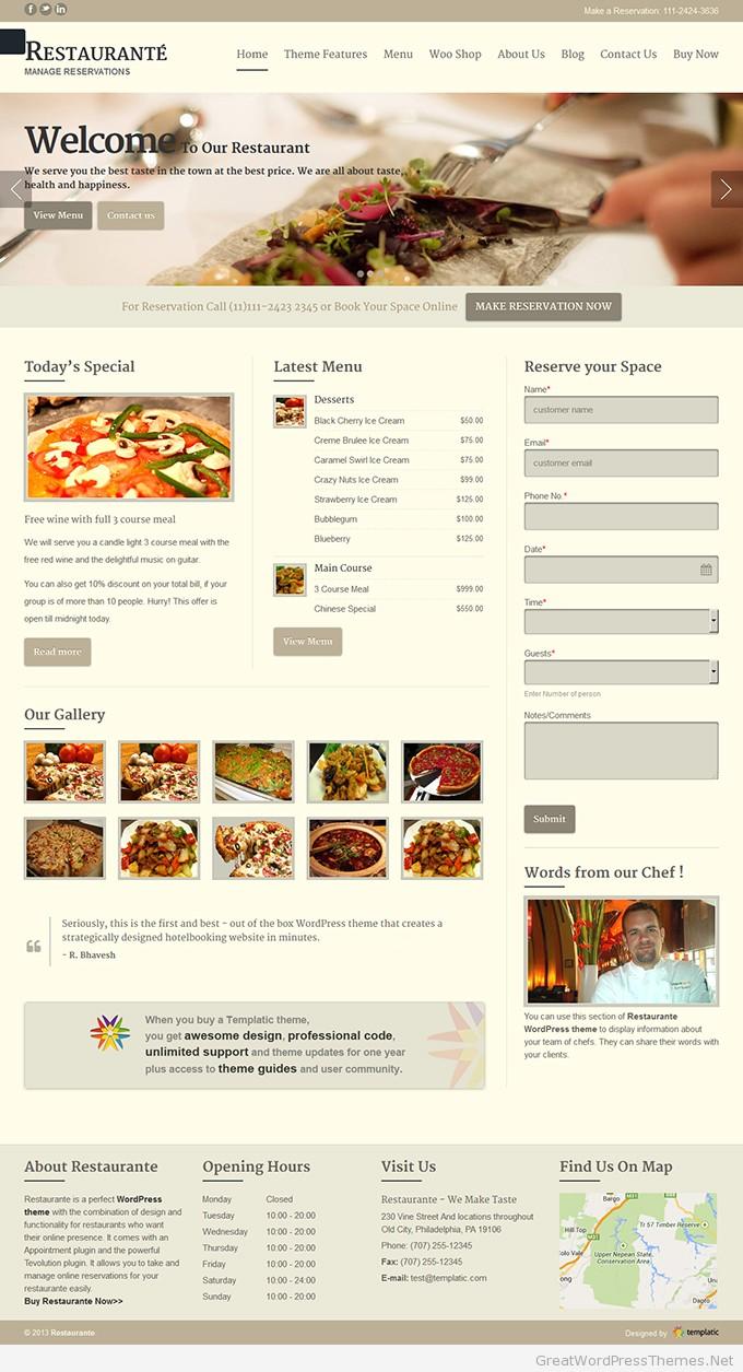 Restaurante_ Manage