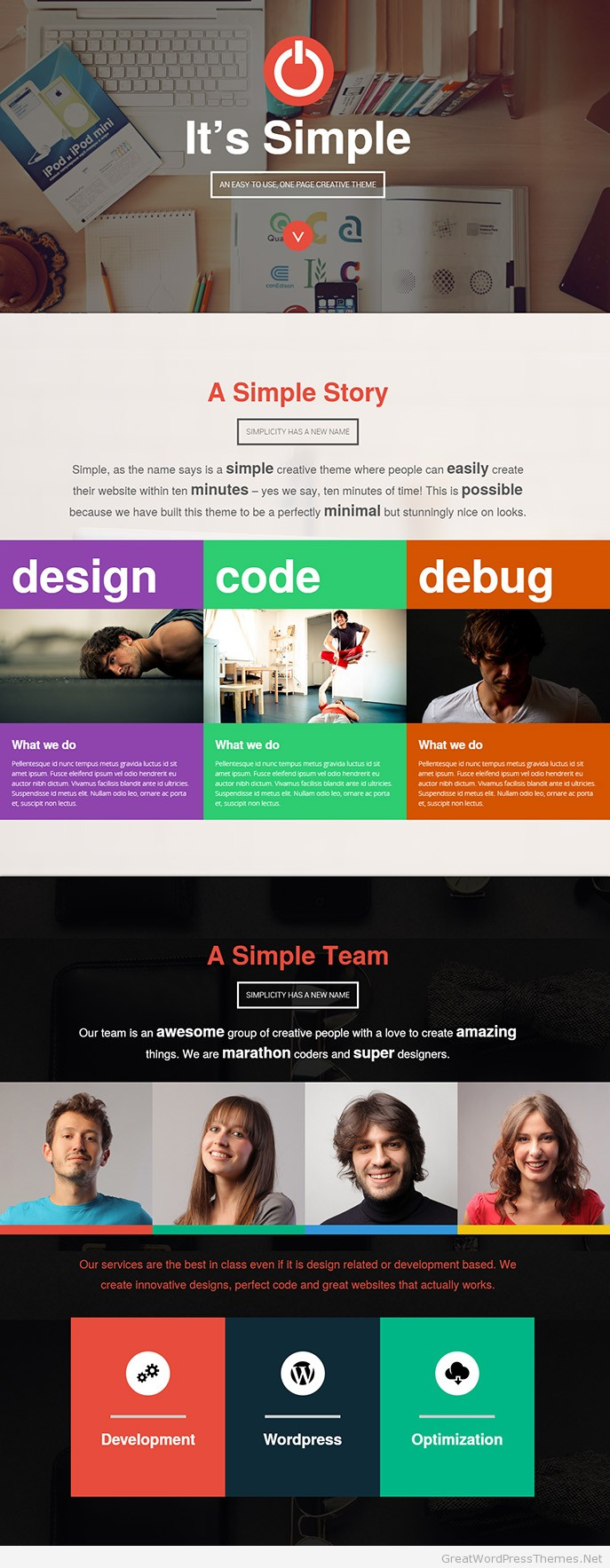 Simple-WP-Theme