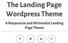 The Best Landing Page WordPress Themes