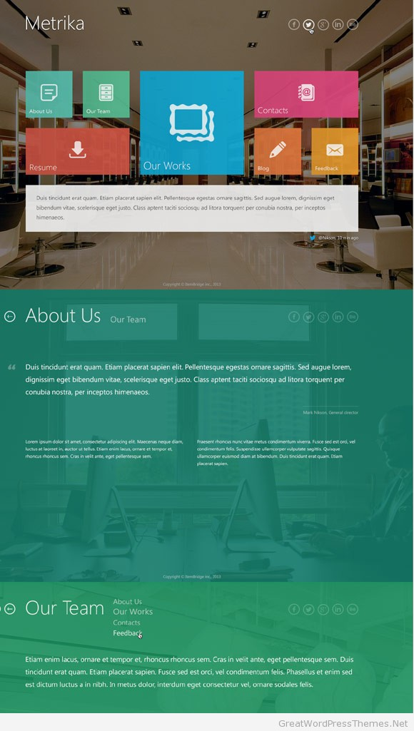 metrika-responsive-wordpress-theme