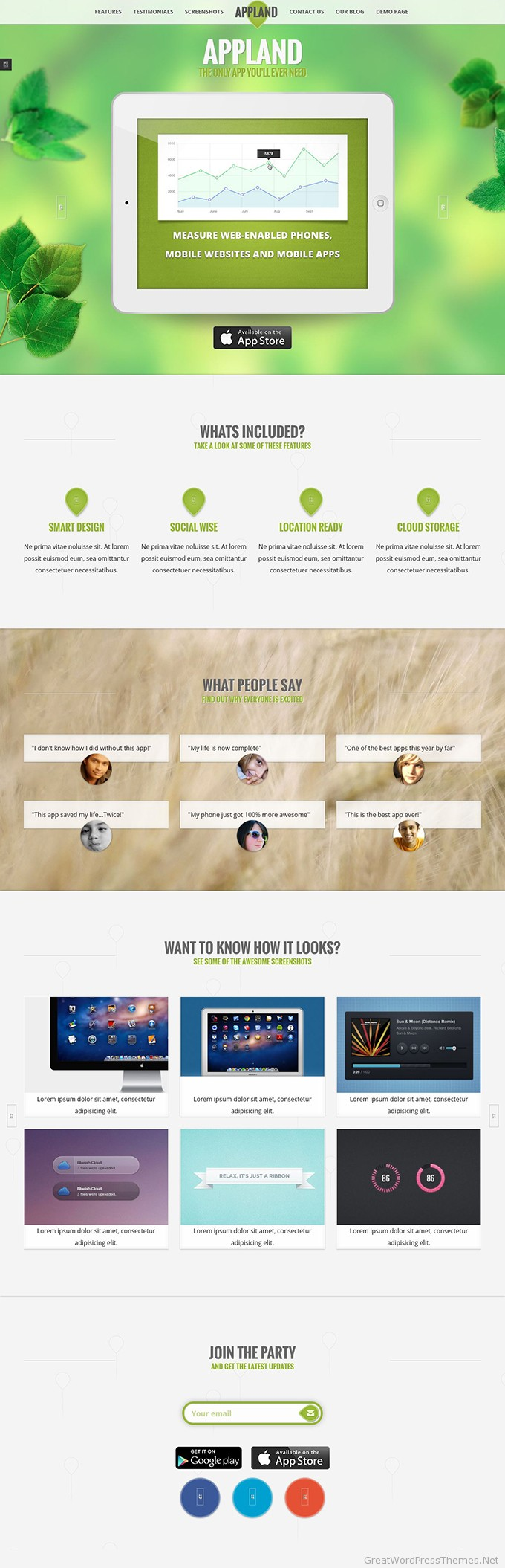 AppLand-Wordpress-theme