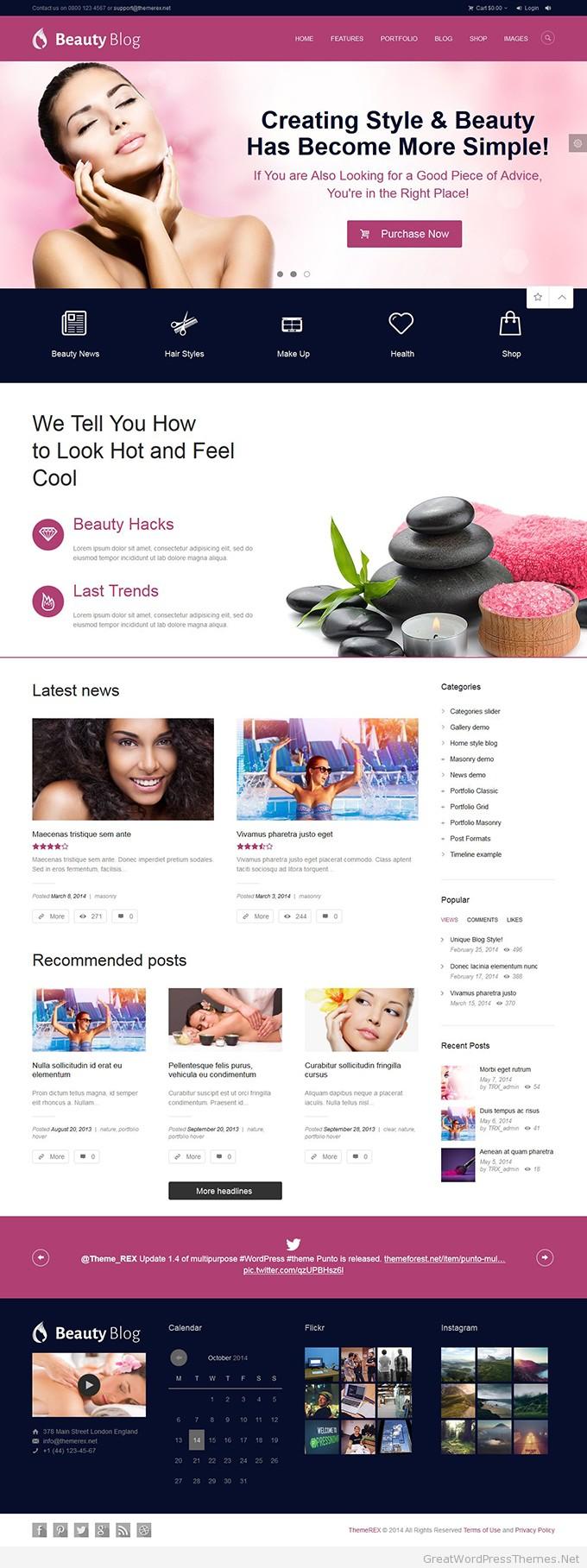 BeautyBlog-theme
