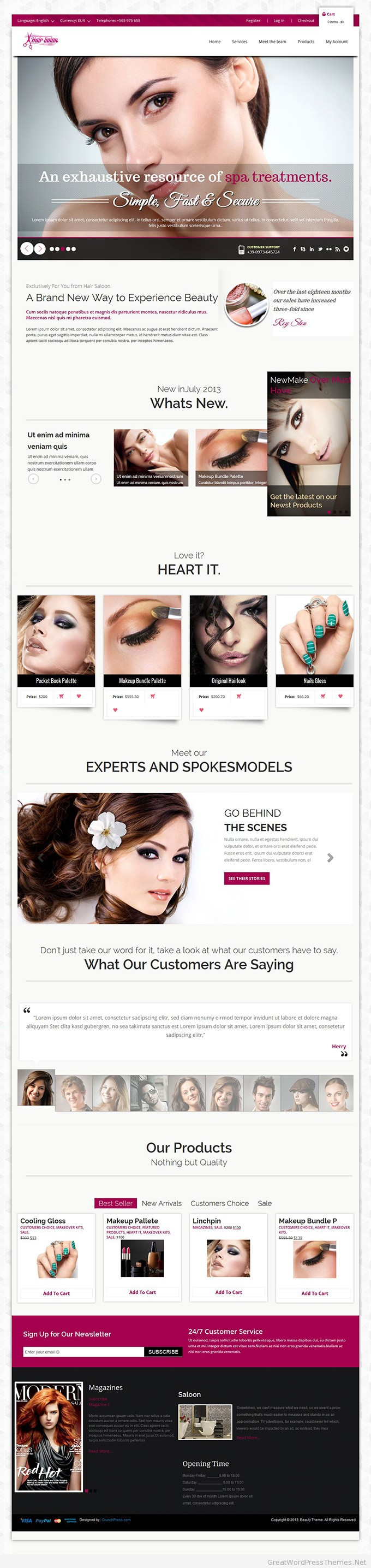 Beautyfit-WordPress-Theme