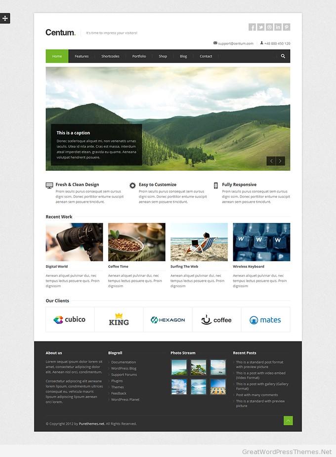 40+ Best Design Showcase WordPress Themes 2018GreatWPThemes