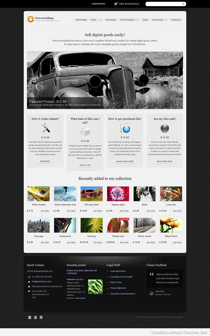 DownloadShop-theme