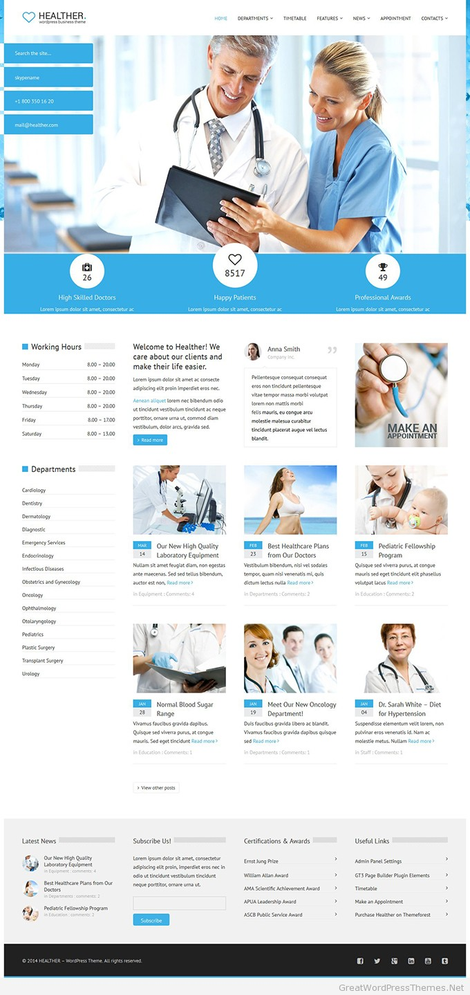 Healther-theme