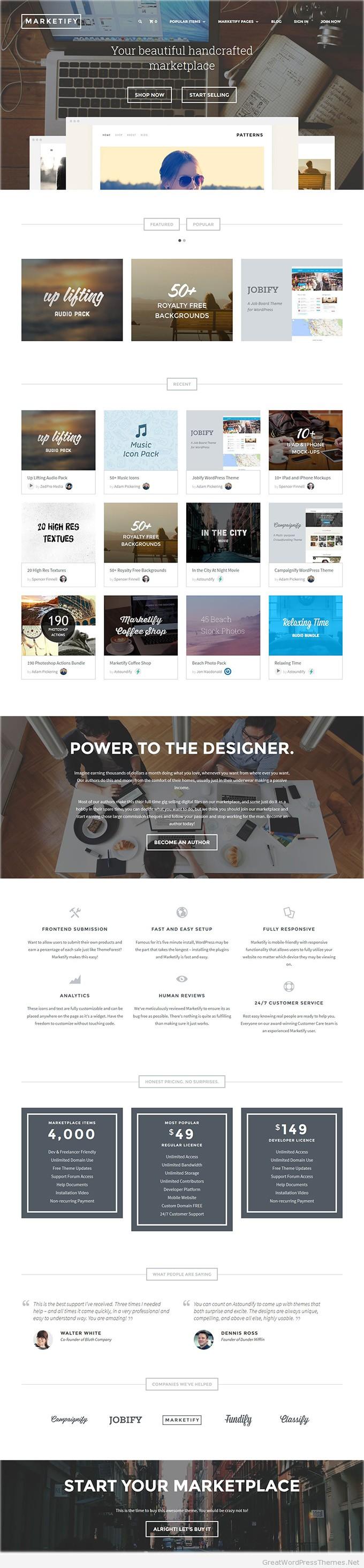 Marketify-wordpress-theme