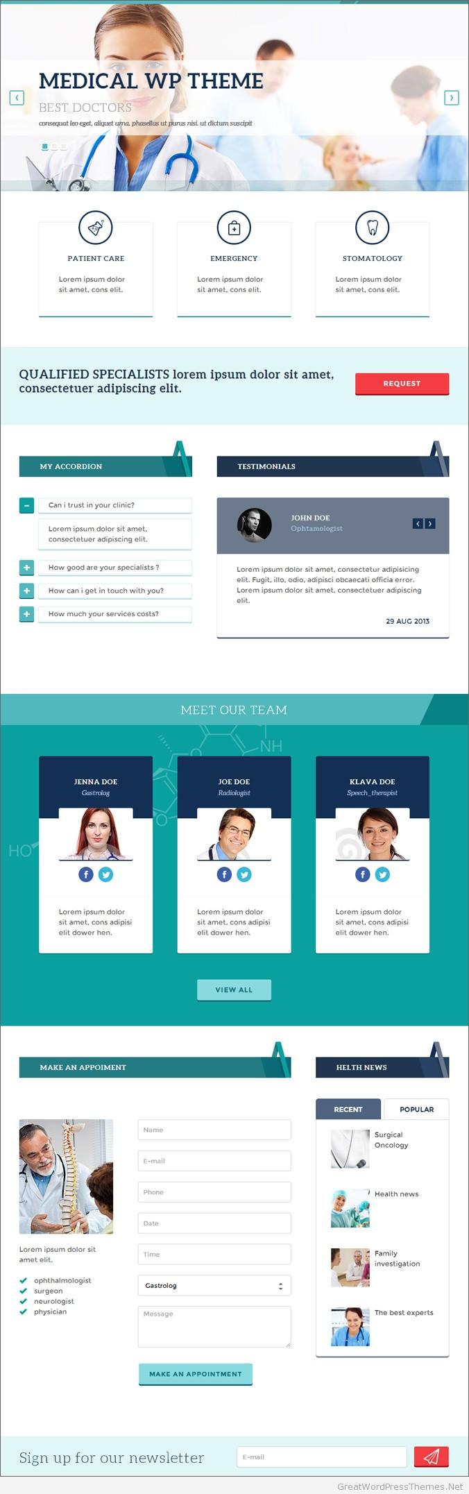 MedPark-WordPress-Theme