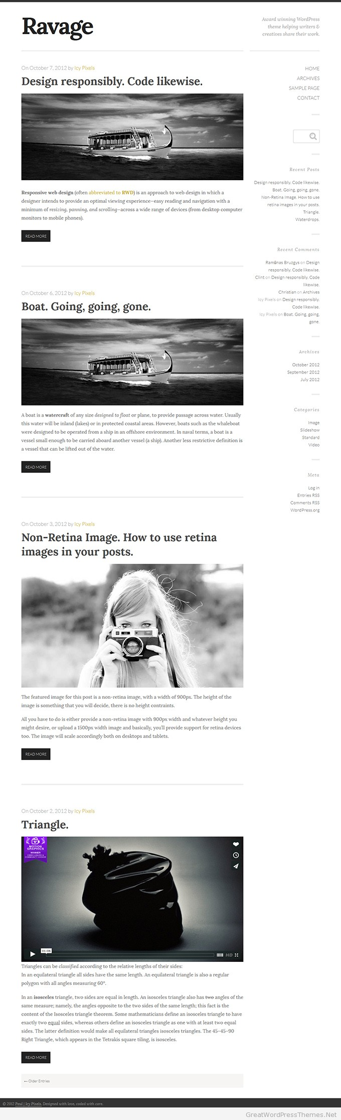 Ravage-WordPress-theme