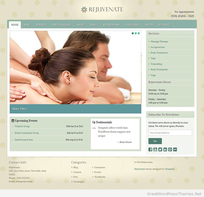 Rejuvenate-Spa-WordPress-Theme