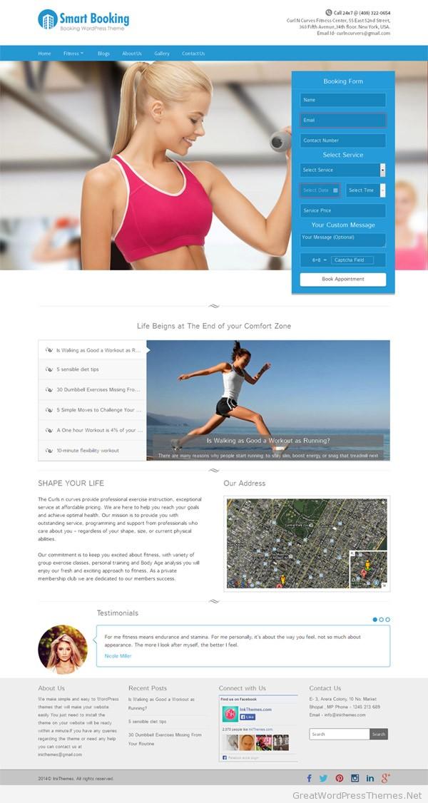 Smartbooking-WordPress-Theme