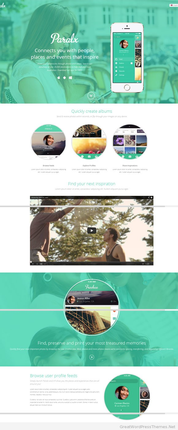 paralx-responsive-wordpress-theme
