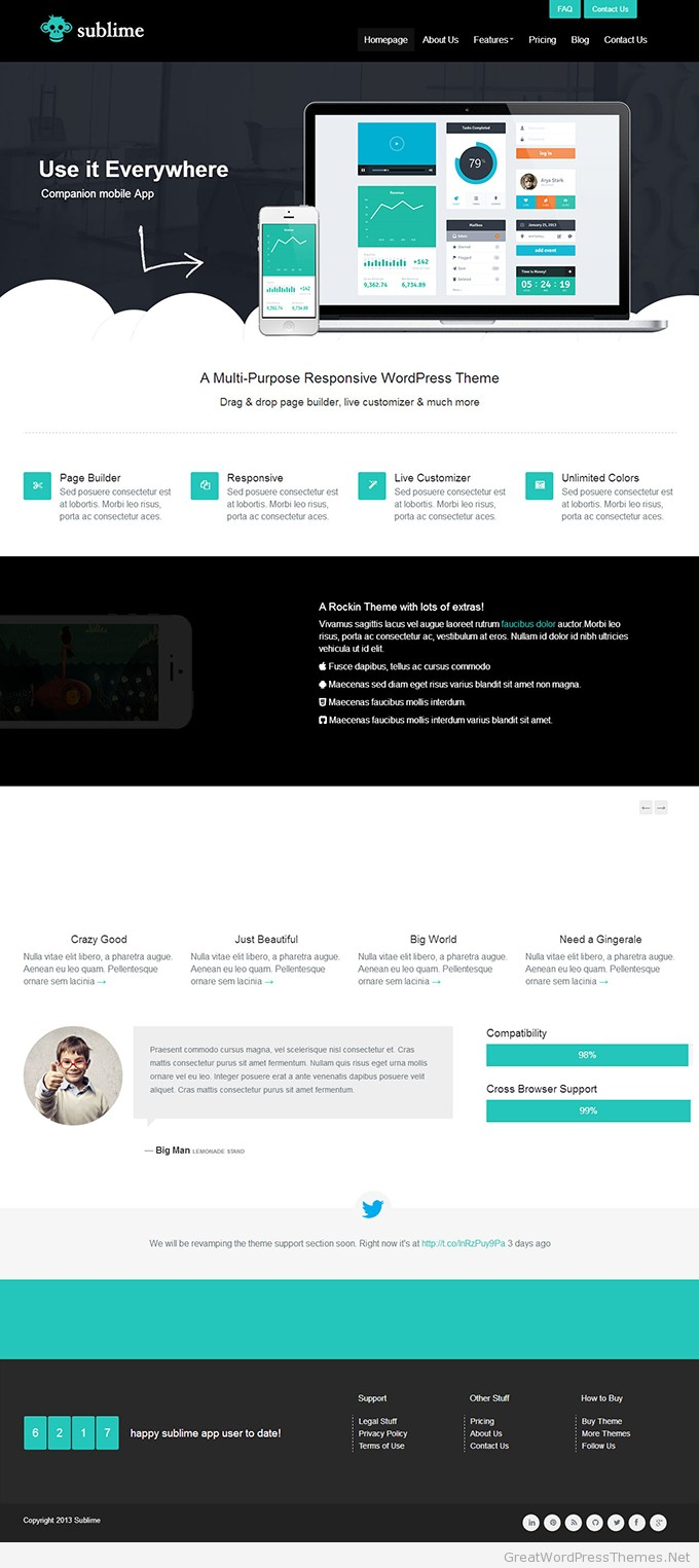 sublime-wordpress-responsive-theme
