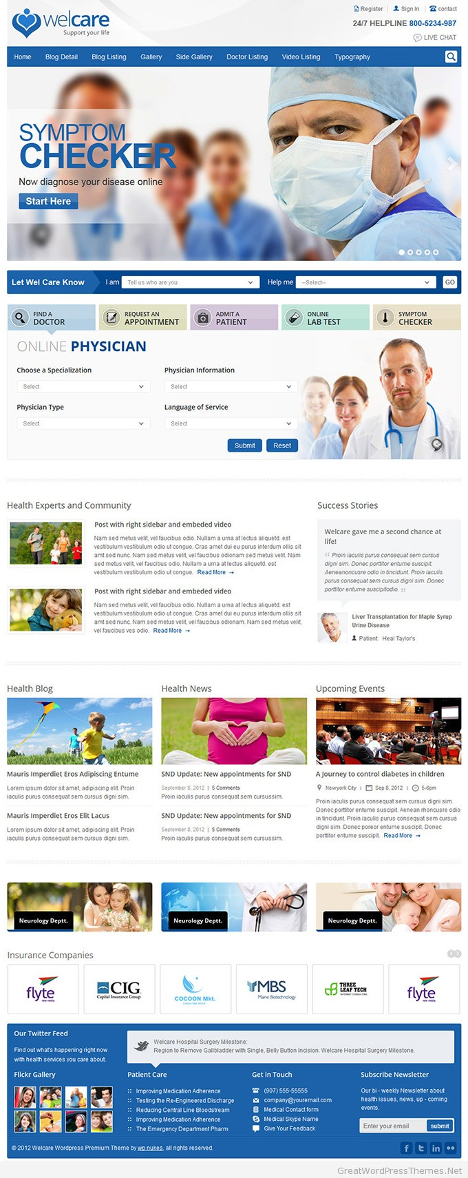 welcare-wordpress-theme