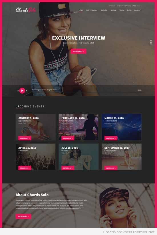 Chords-Music-Artist-Radio-WordPress-theme
