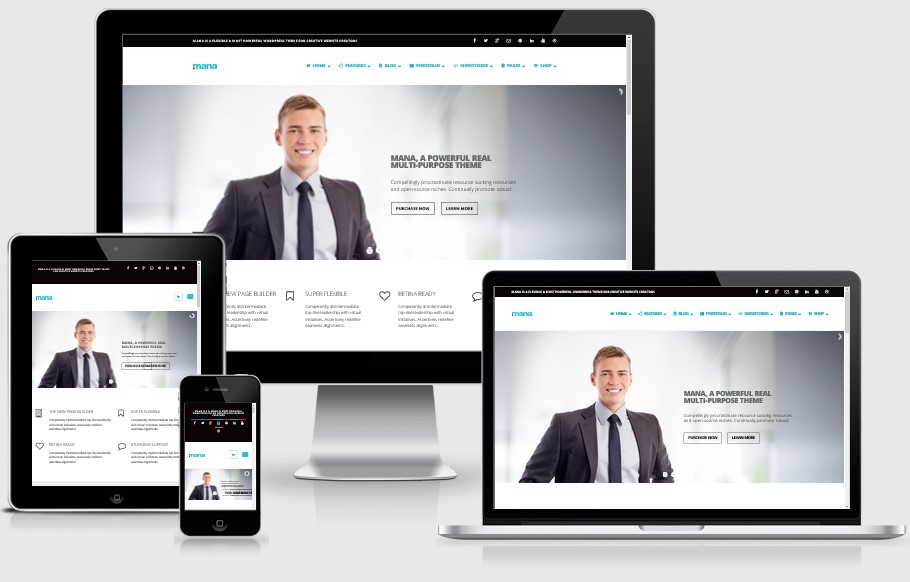 Mana-Responsive-WordPress-Theme