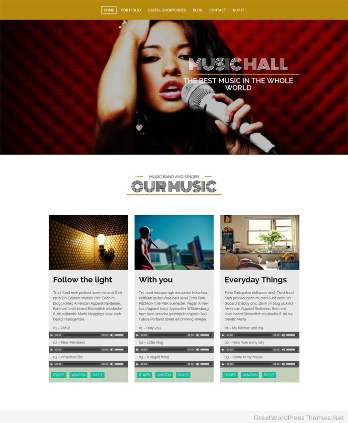 MusicHall-theme
